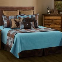 Old Dominion Reversible Coverlet Set - Queen
