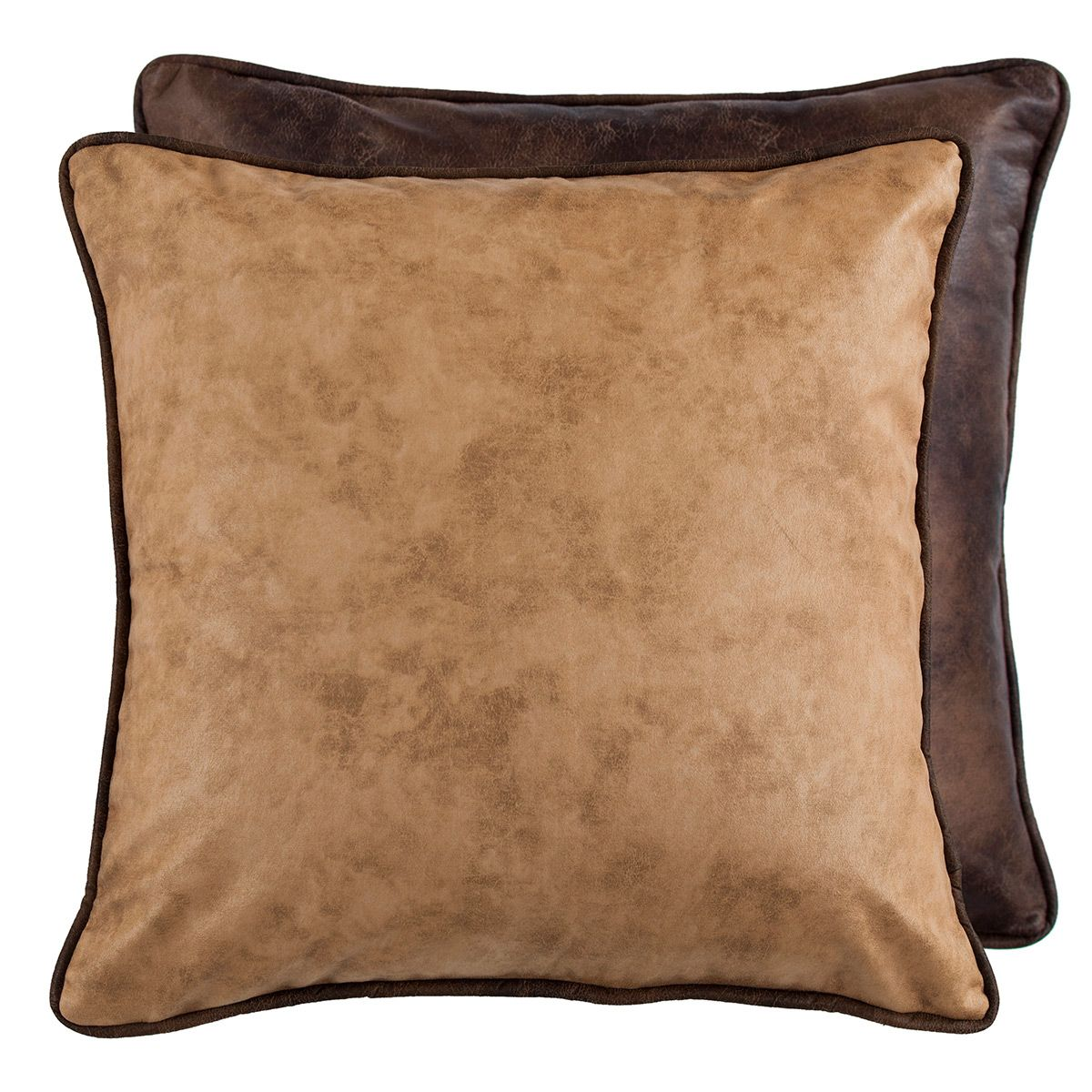 Old Dominion Reversible Faux Leather Euro Sham