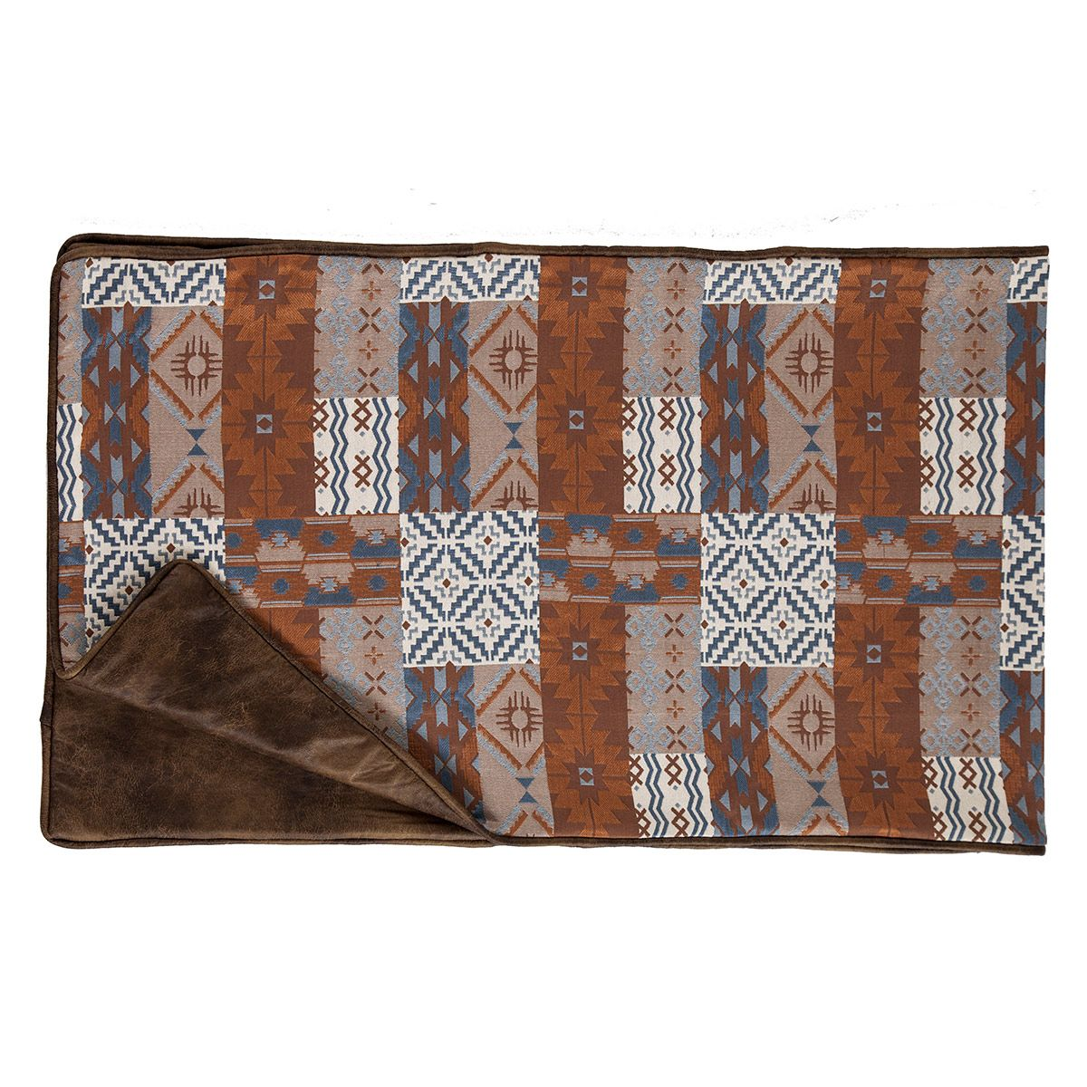 Old Dominion Reversible Patchwork Bed Runner - Twin