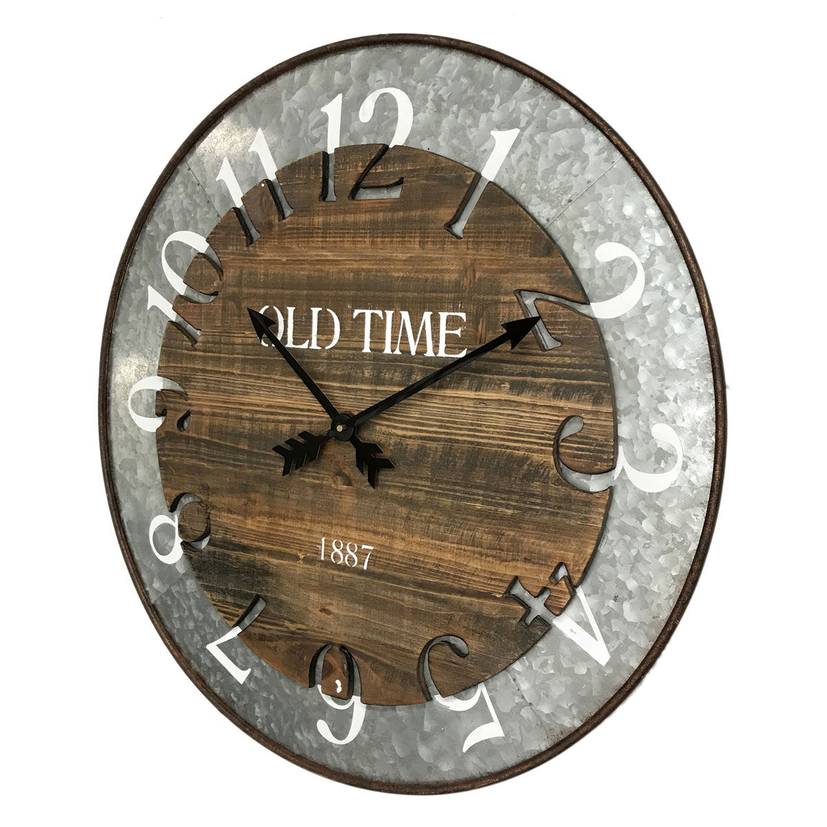 Old Time Wall Clock