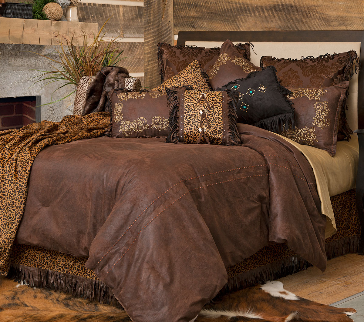 Old West Bed Set - King