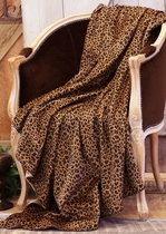 Old West Leopard Throw