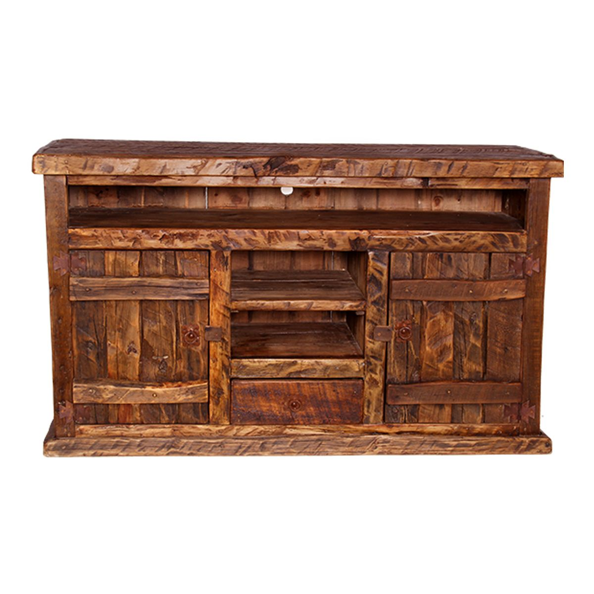 Rustic Tv Stands Old West Pine Stand