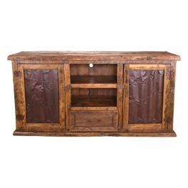 Old West Tin TV Stand