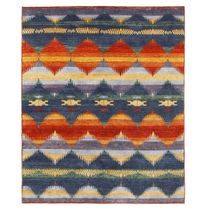 Ombre Rug - 8 x 10