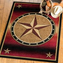 Ombre Star Rug - 2 x 3