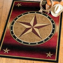 Ombre Star Rug - 8 x 10