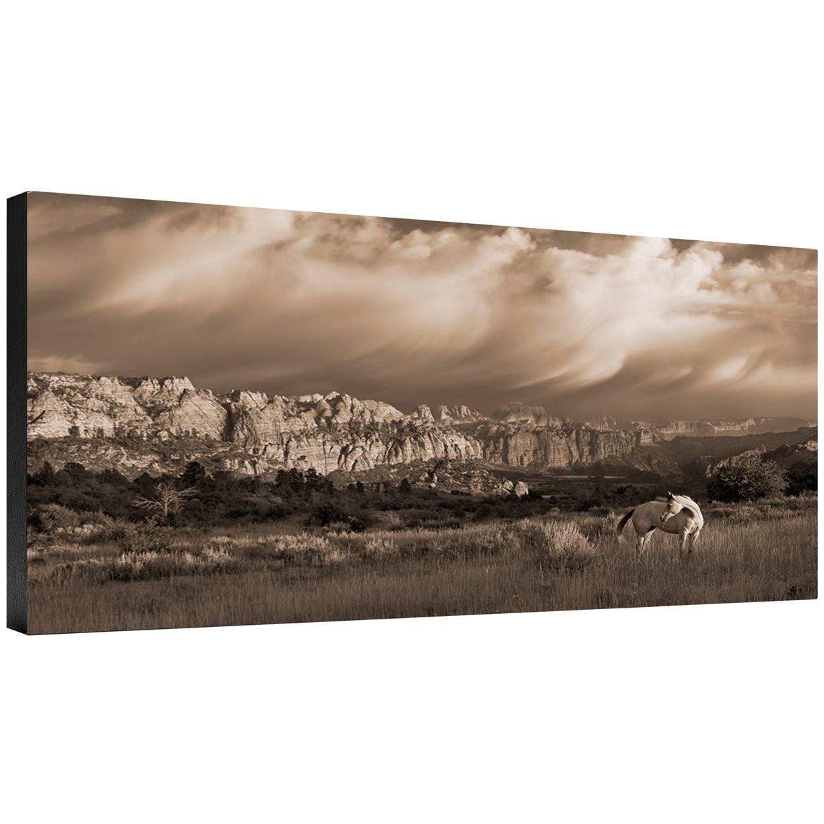 On the Utah Plains Gallery Wrapped Canvas