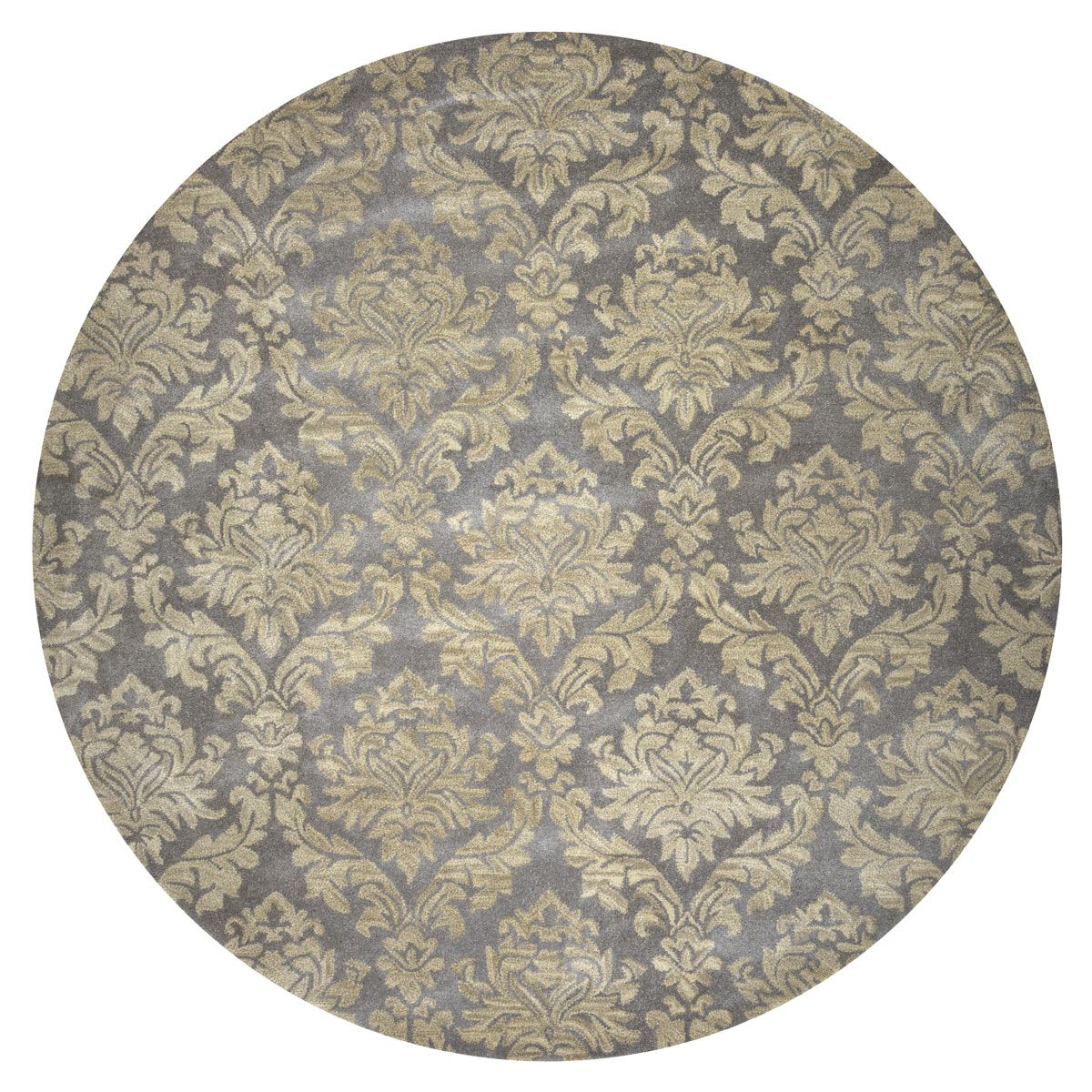 Ornate Saloon Rug - 8 Ft. Round