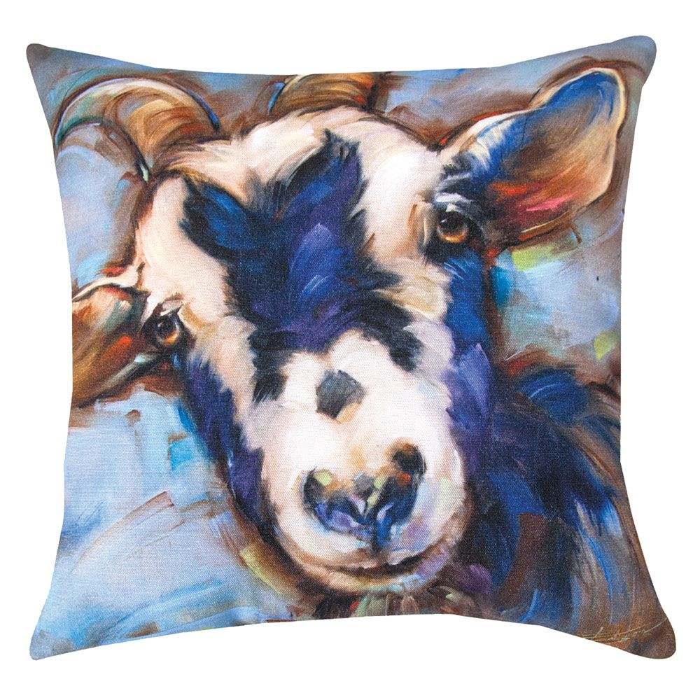 Sheepish Fellow Indoor/Outdoor Pillow
