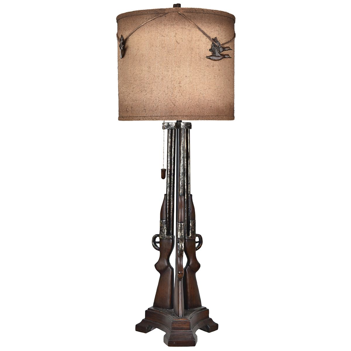 Outlaw Shotgun Table Lamp