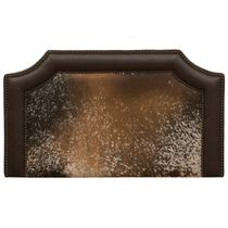 Outlaw Speckled Hair on Hide Headboard - King