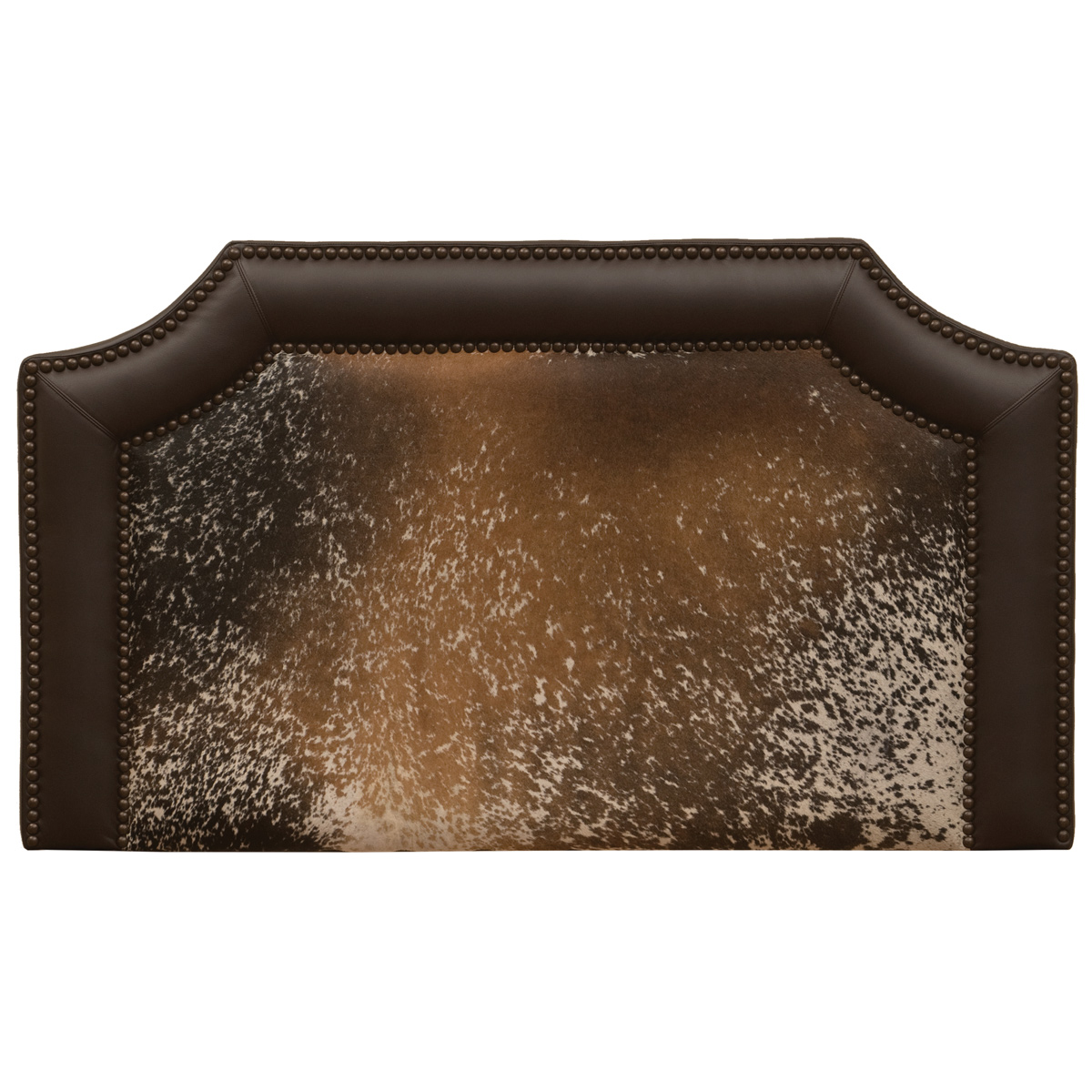 Outlaw Speckled Hair on Hide Headboard - Queen
