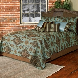 Paddington Teal Bedding Collection