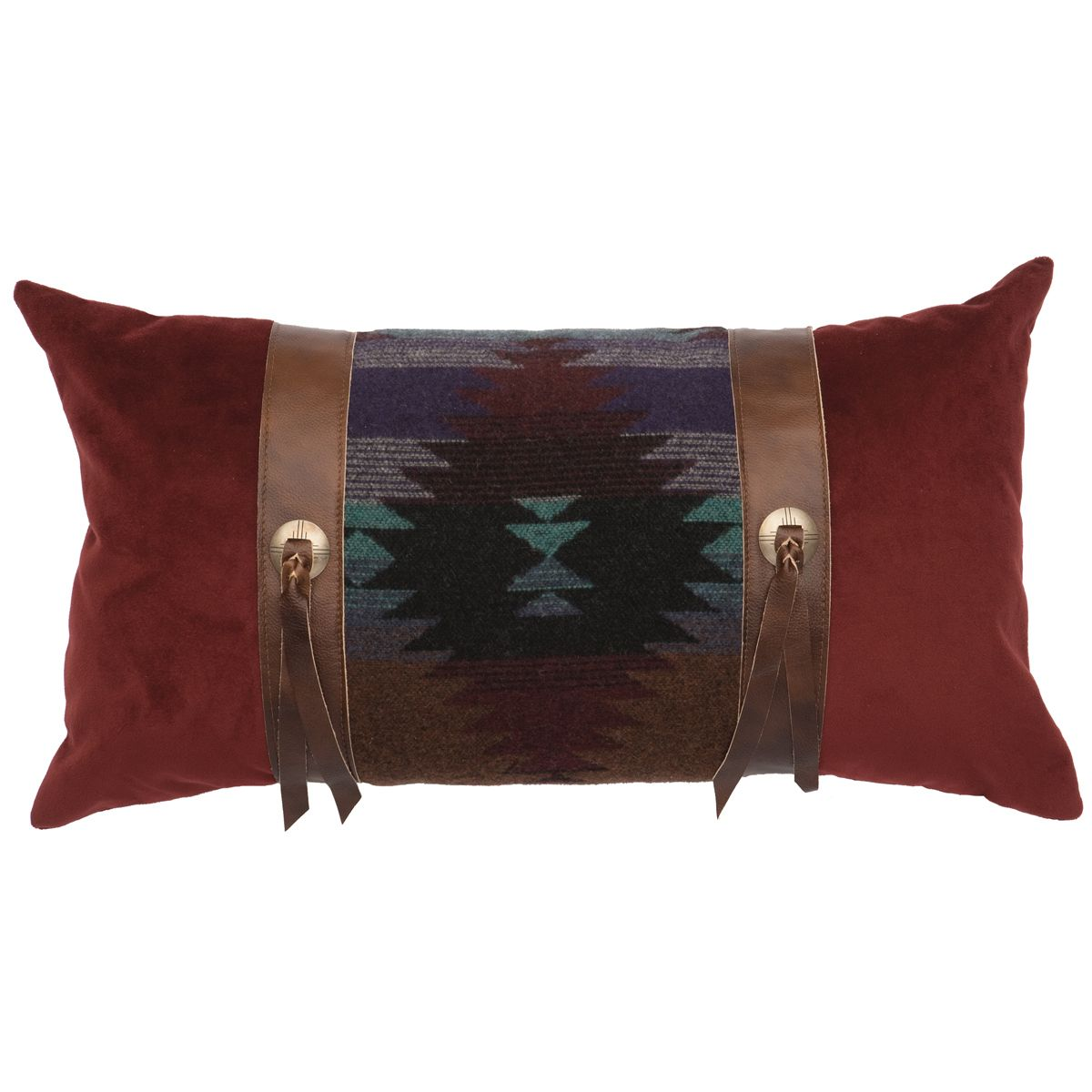 Painted Desert III Rectangle Pillow