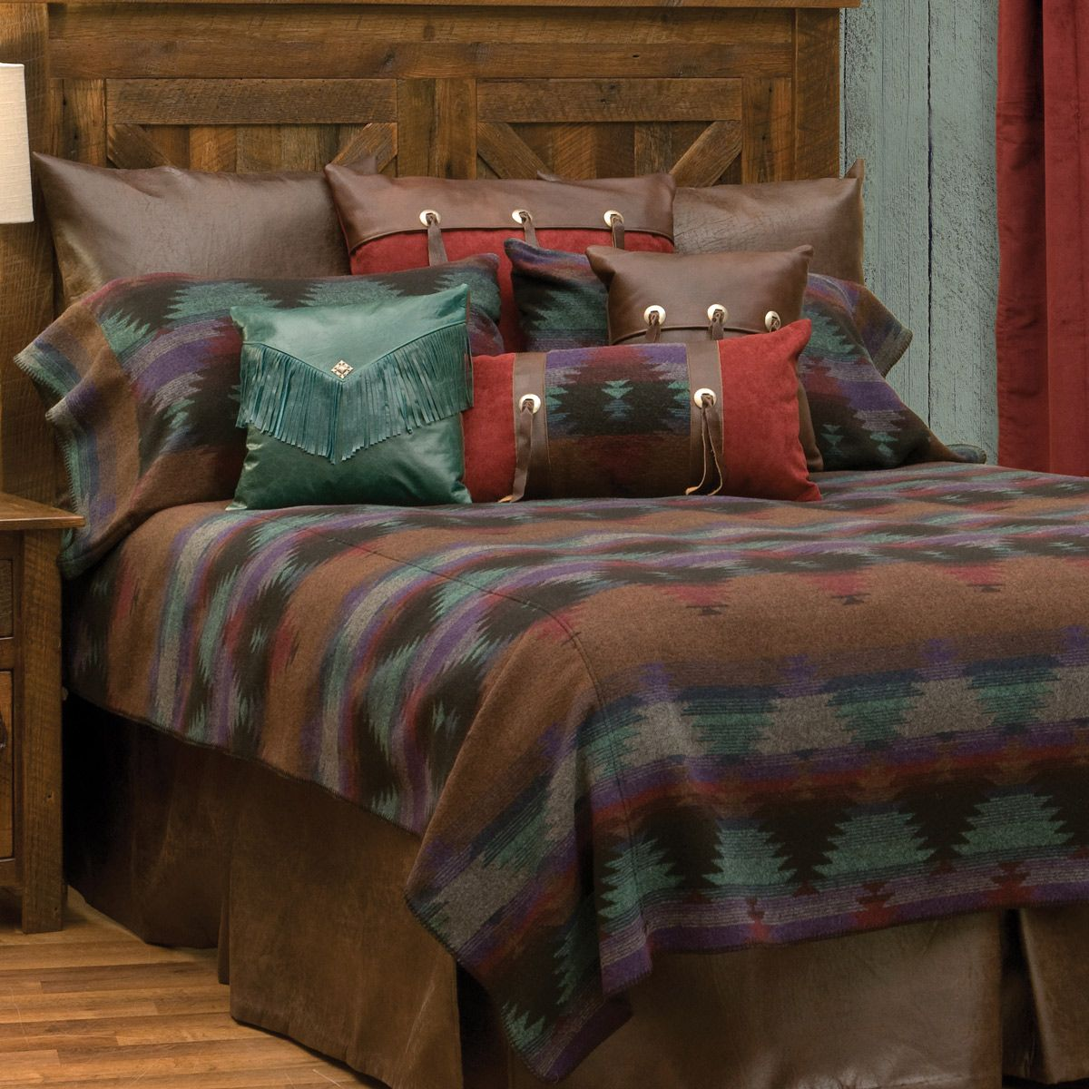 Painted Desert III Basic Bed Set - Twin