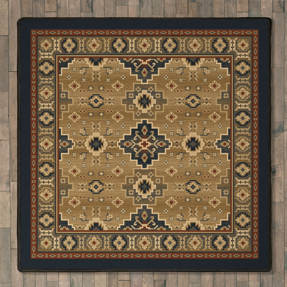 Painted Desert Rug - 8 Ft. Square