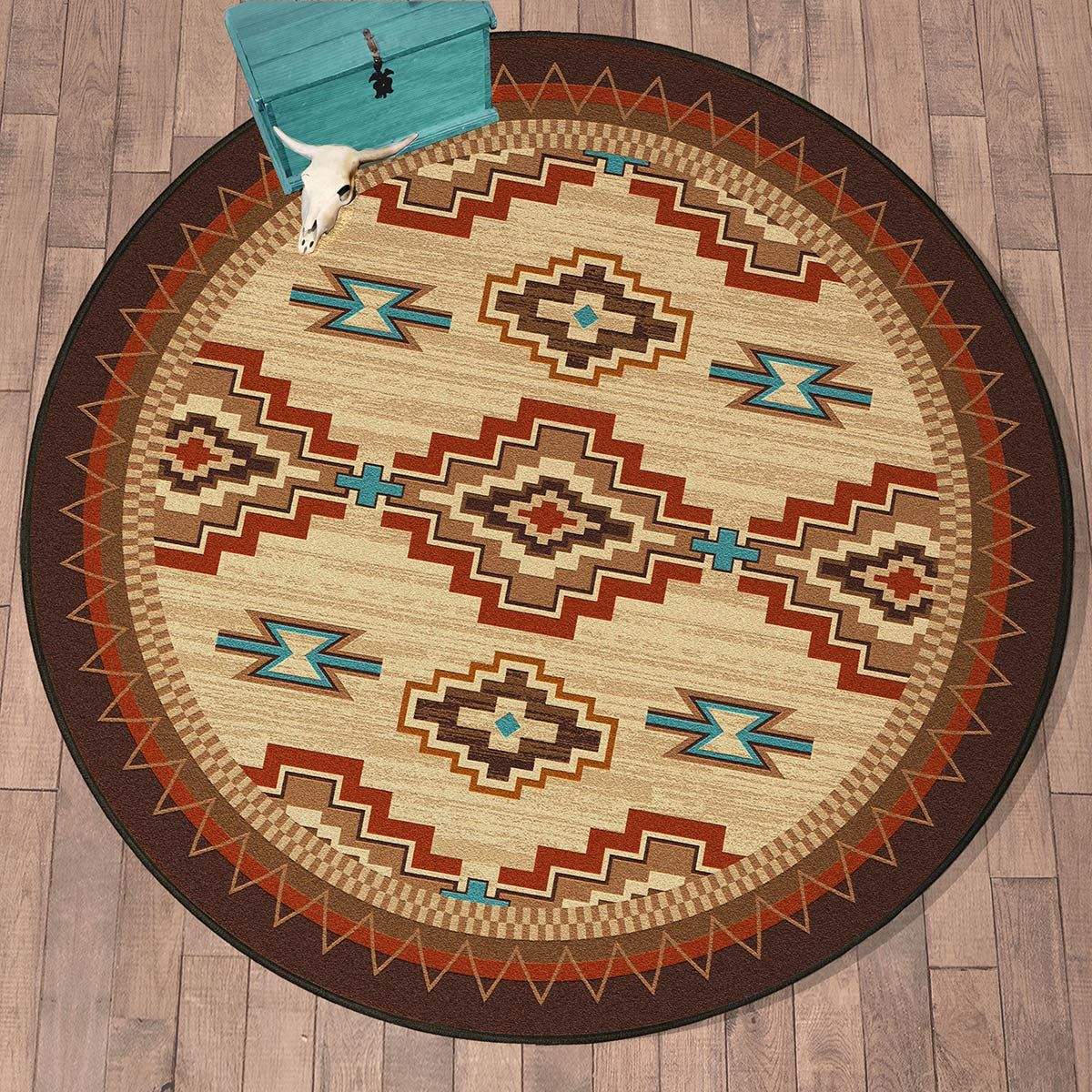 Painted Mesa Rug - 8 Ft. Round