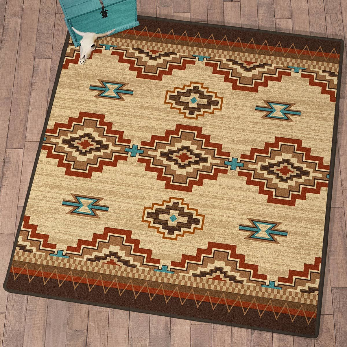 Painted Mesa Rug - 8 Ft. Square