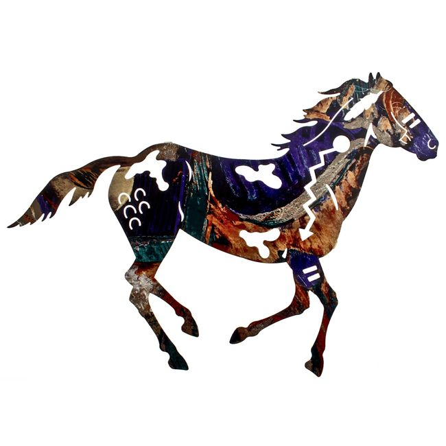 Painted Pinto Wall Hanging