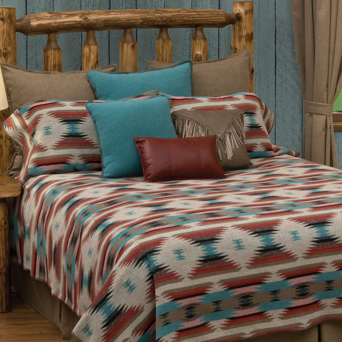 Painted Sky Basic Bed Set - Super Queen