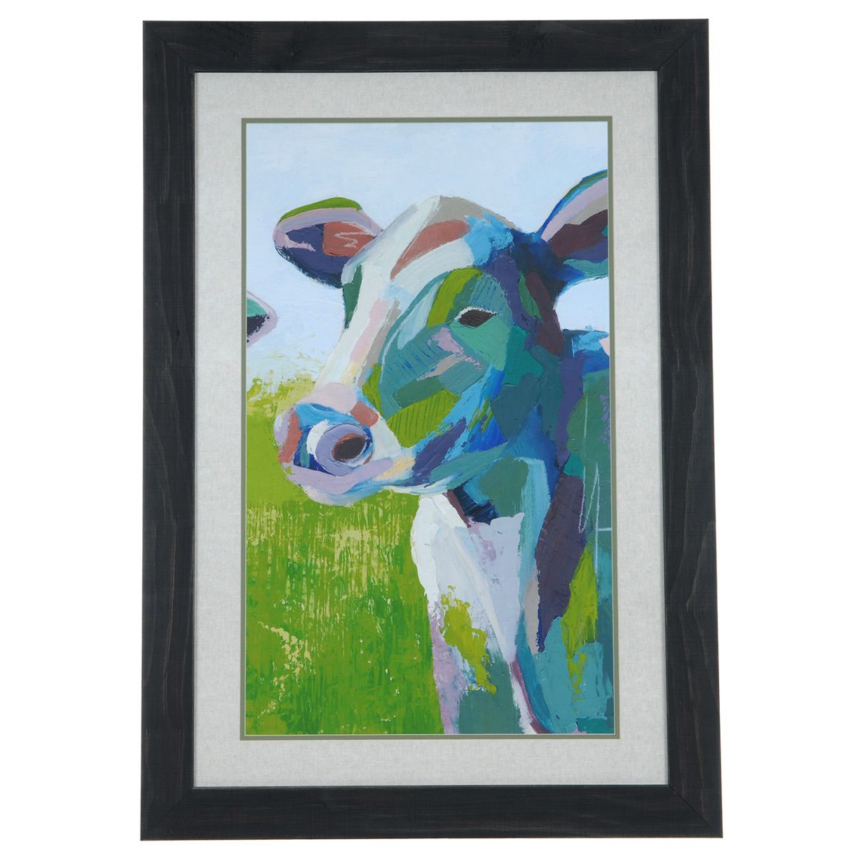 Painterly Cow II Framed Print