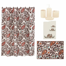 Paisley Dance 21 Piece Bath Set