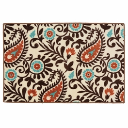 Paisley Dance Bath/Kitchen Rug�