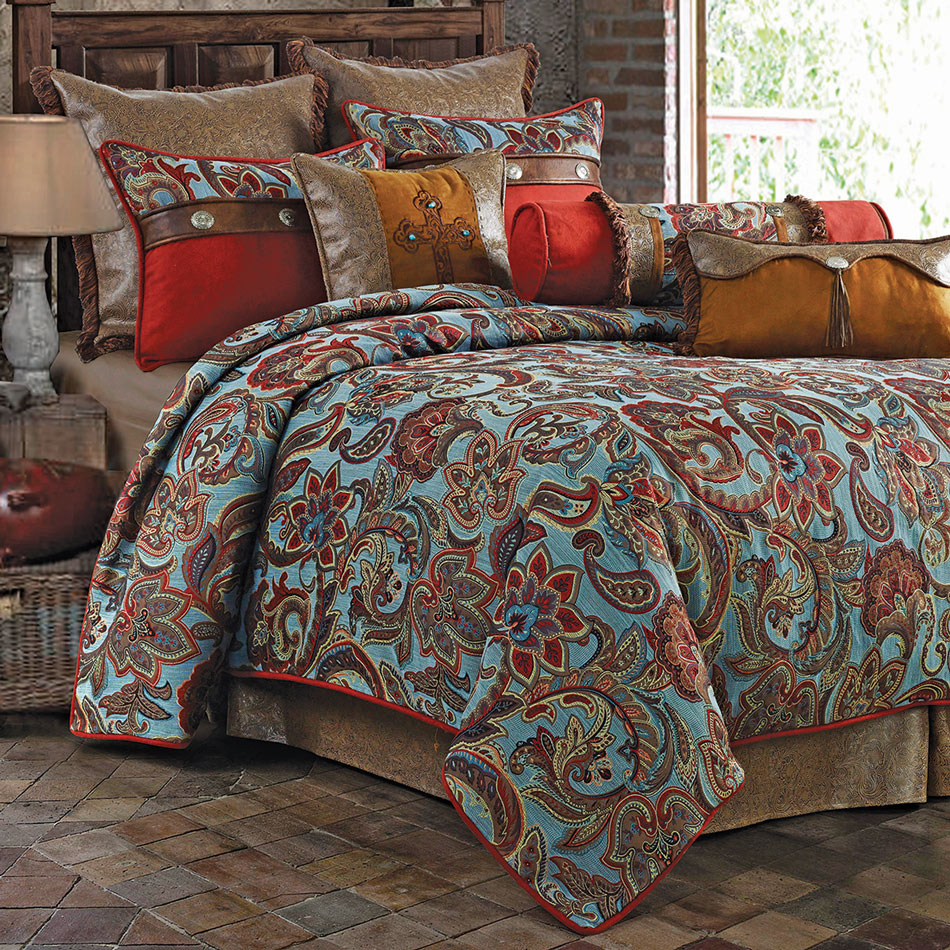 Paisley Meadows Bed Set - Twin - OVERSTOCK