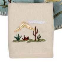 Palo Duro Cactus Fingertip Towel - CLEARANCE