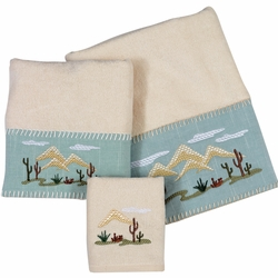 Palo Duro Cactus Towel Collection