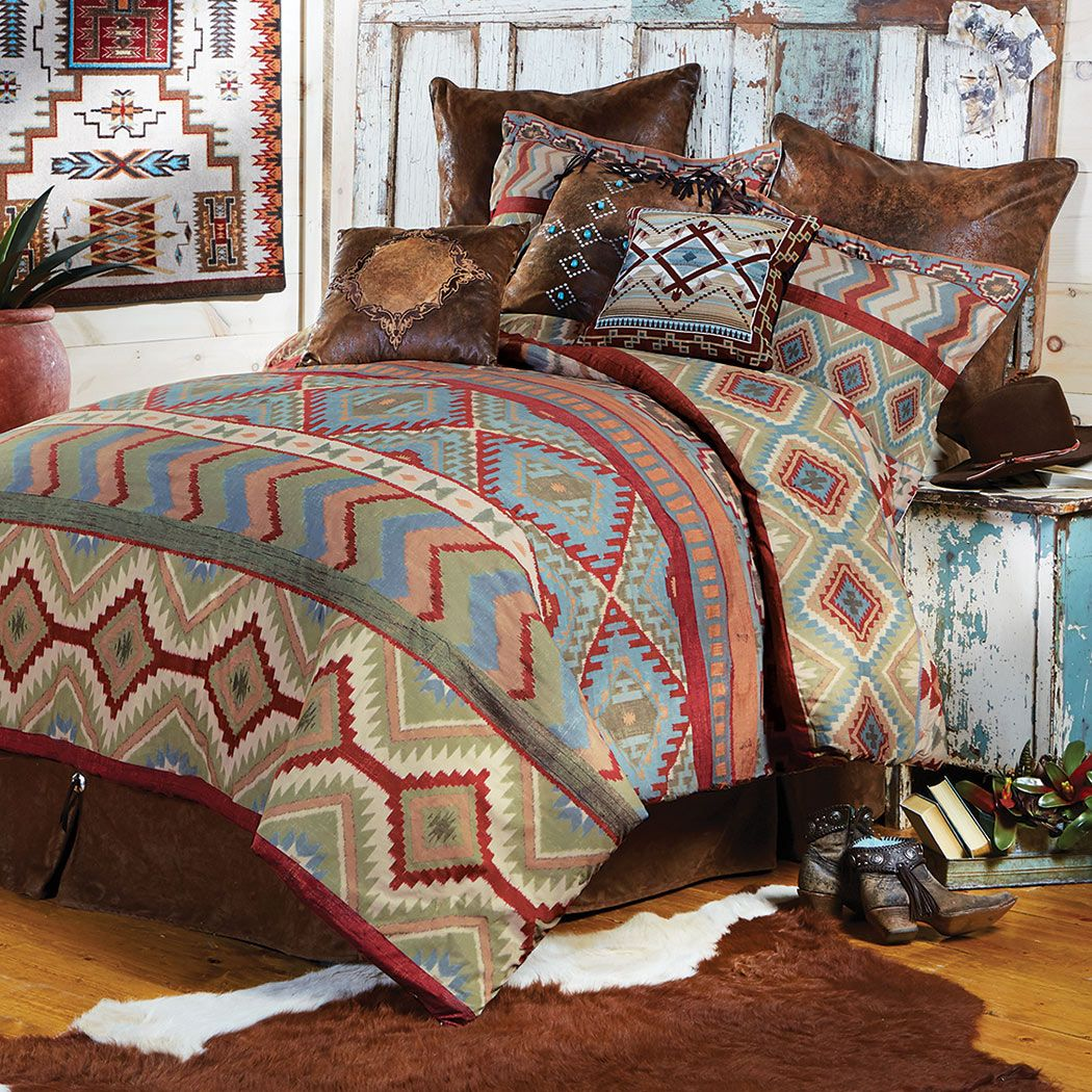 Pueblo Valley Comforter - King