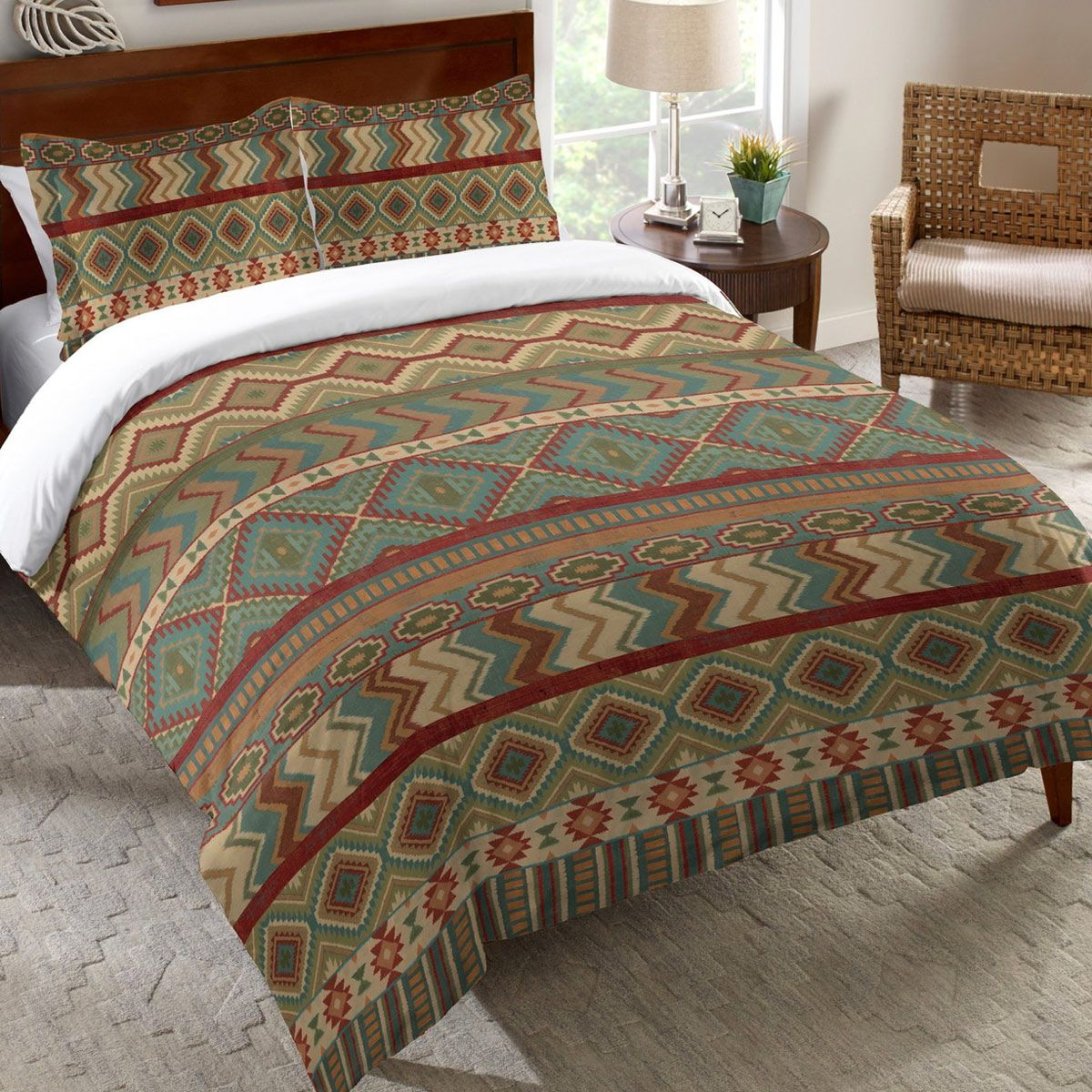 Pueblo Valley Comforter - Queen