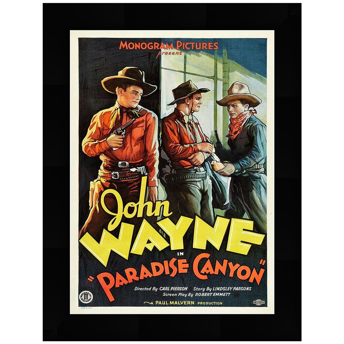 Paradise Canyon Poster Framed Art