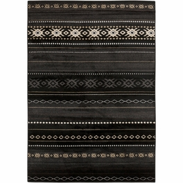 Paramount Black Rug Collection
