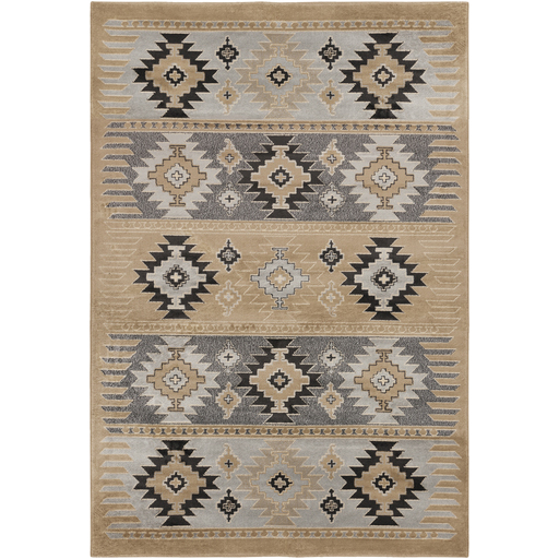 Paramount Taupe Rug - 5 x 8