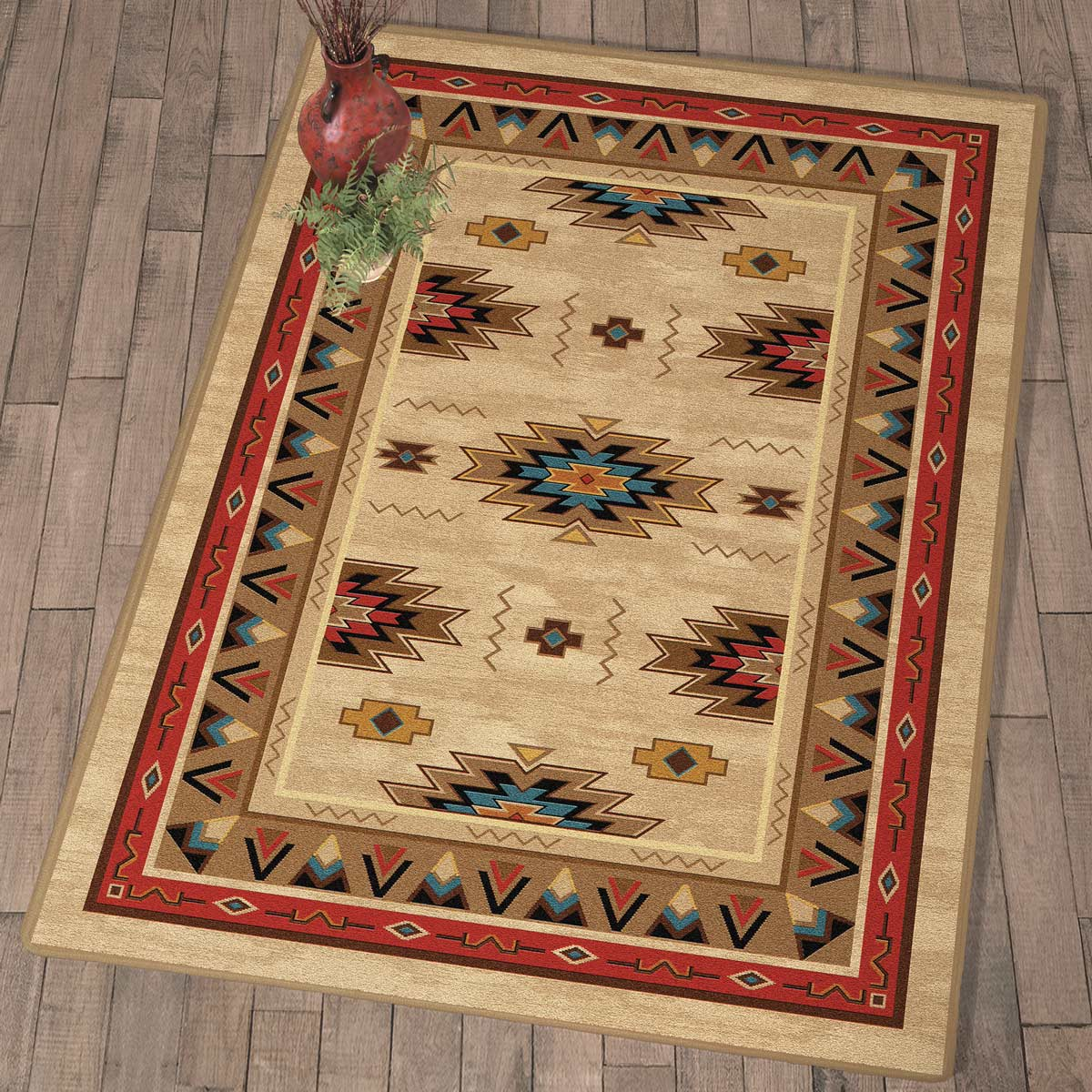 Pathfinder Trails Rug - 5 x 8