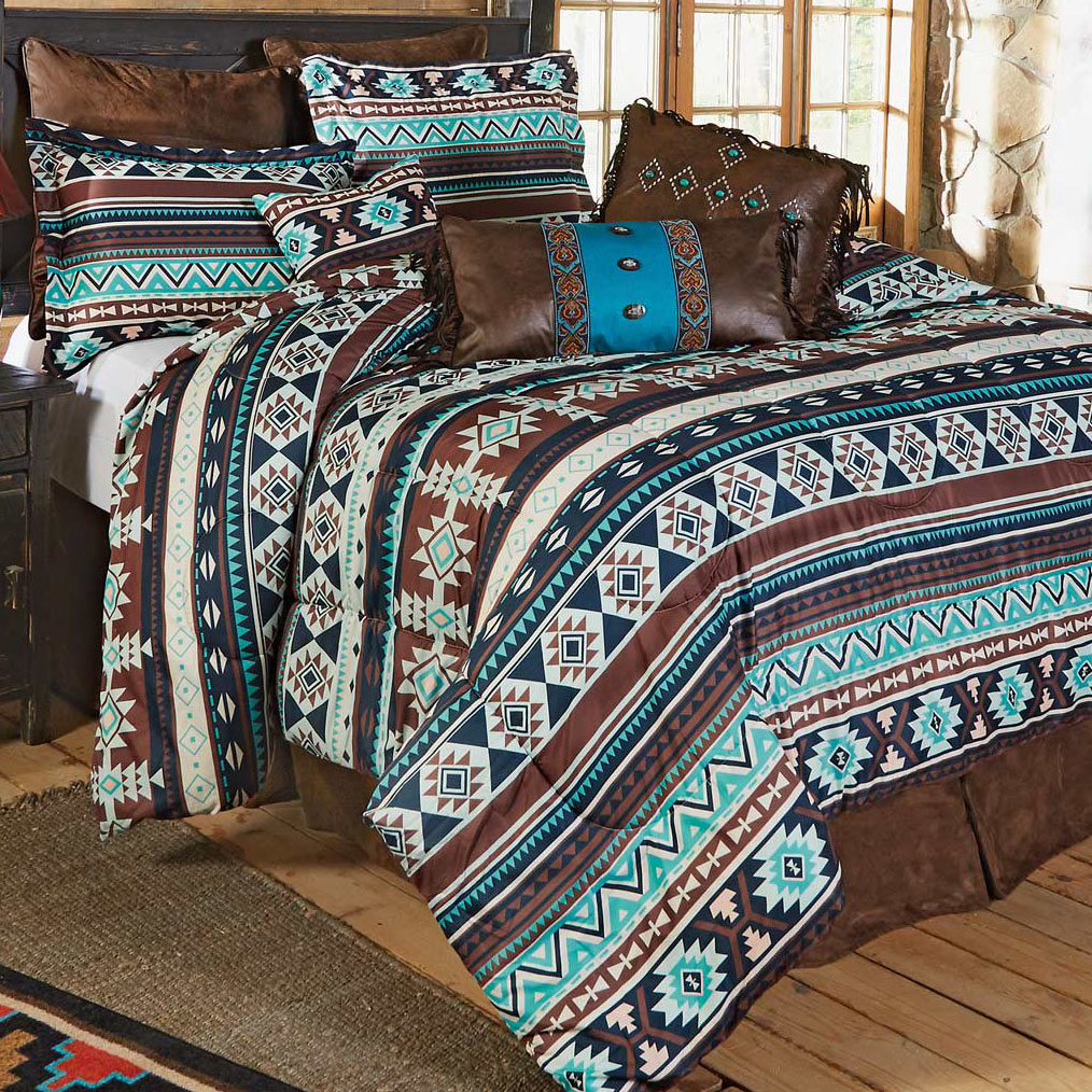 Pecos River Bed Set - Twin