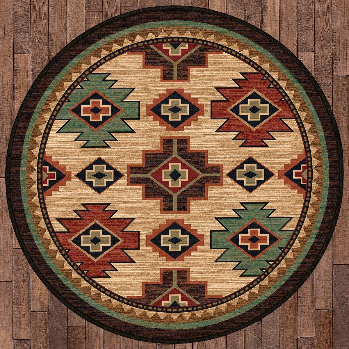 Pecos Valley Rug - 8 Ft. Round