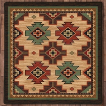 Pecos Valley Rug - 8 Ft. Square