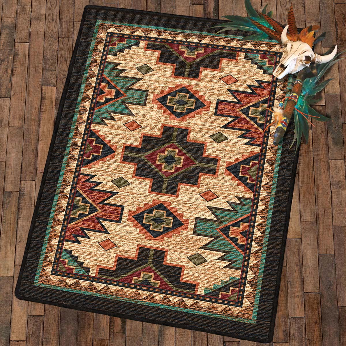 Pecos Valley Rug - 8 x 11