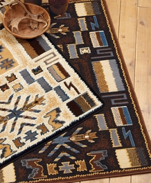 Pelham Brown Rug Collection