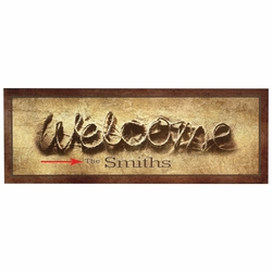 Personalized Welcome Rope Wall Art