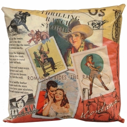 Personalized Western Pillows