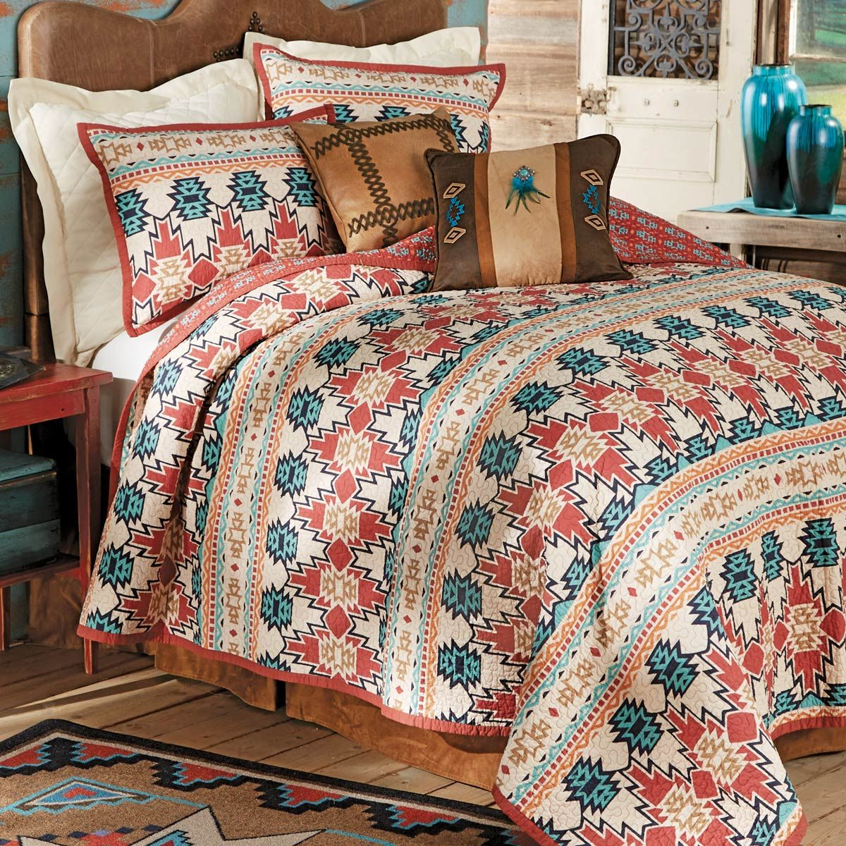 Phoenix Quilt Set - Full/Queen