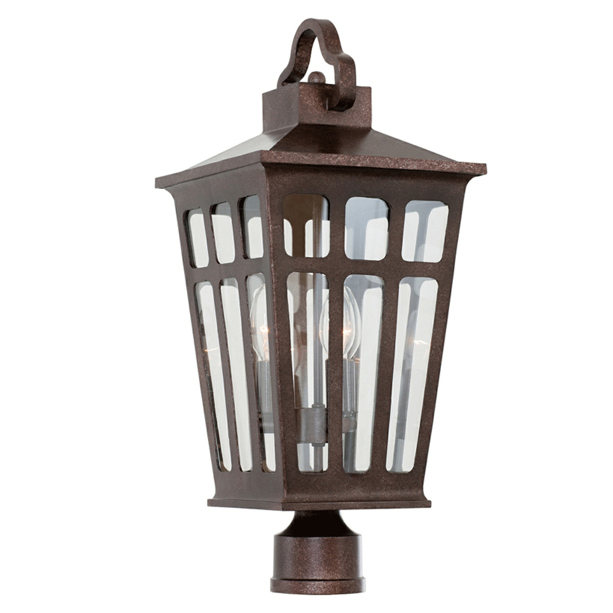 Piedmont Small Post/Pier Mount Lamp