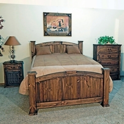 Pine Abode Bedroom Collection - Natural Dark
