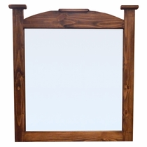 Pine Abode Mirror - Natural Dark