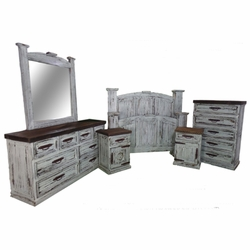 Pine Estate Bedroom Collection - White