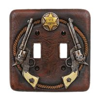 Pistol Double Switch Cover - CLEARANCE
